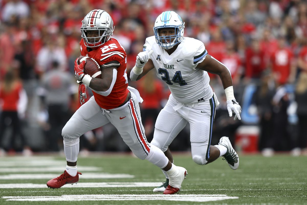 NCAA Football: Tulane at Ohio State