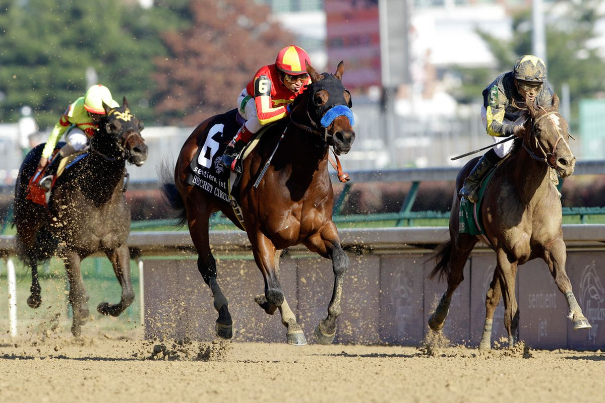 Secret Circle attempts to make it two in a row at Oaklawn Park when he runs in Saturday's Grade 2 Rebel Stakes.