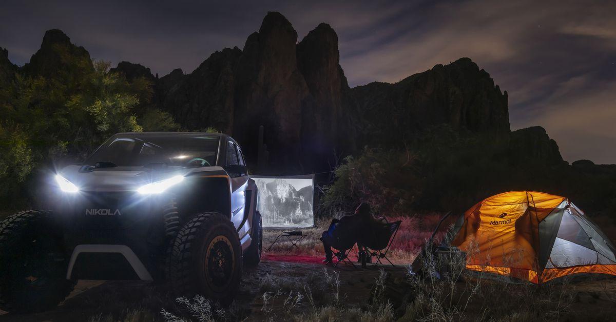 Nikola's off-road EV is a high-tech speed demon - The Verge 5