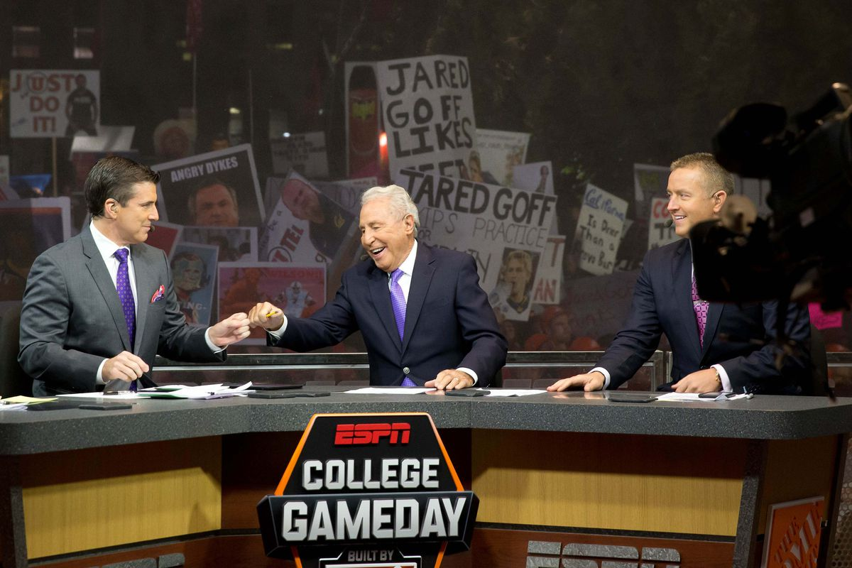 NCAA Football: College Game Day-California at Utah