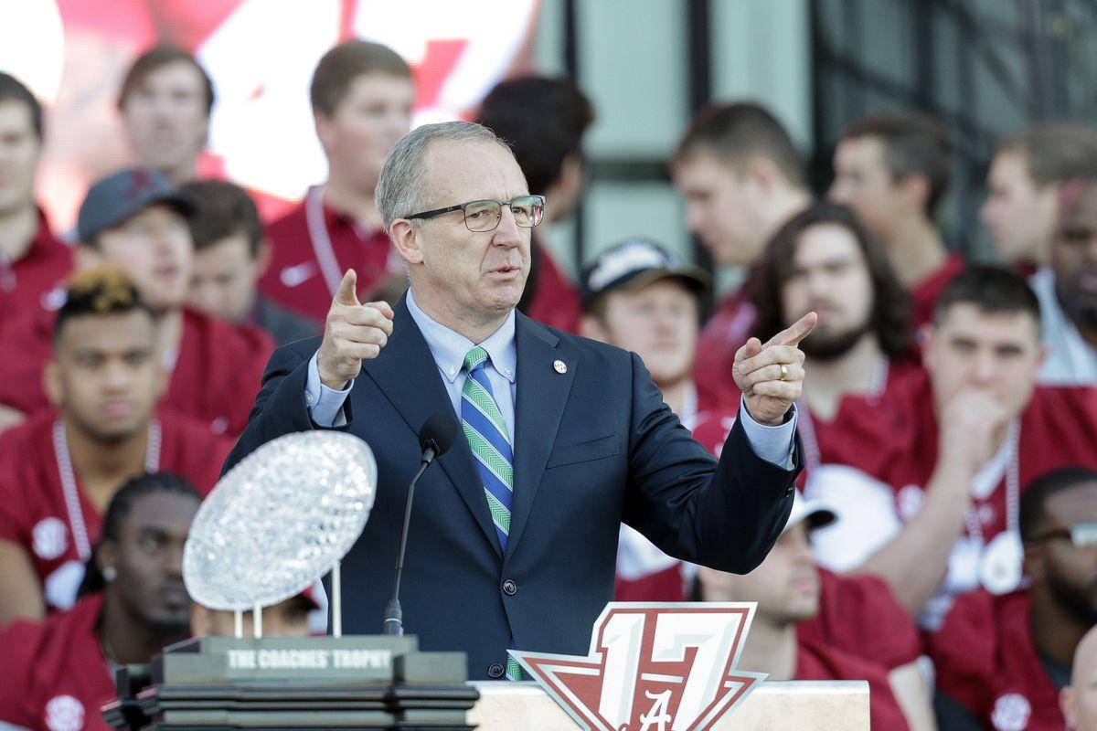 NCAA Football: CFP National Championship-Alabama Celebration