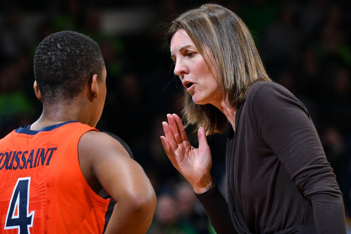 NCAA Womens Basketball: Virginia at Notre Dame