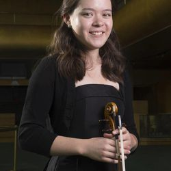 Shenae Anderson at a 2014 Salute to Youth photo shoot Wednesday, July 30, 2014, at Abravanel Hall in Salt Lake City.