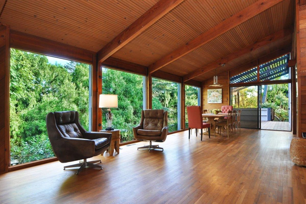 70s modern style house in rancho palos verdes for sale - 8 bedroom homes for sale in los angeles ...