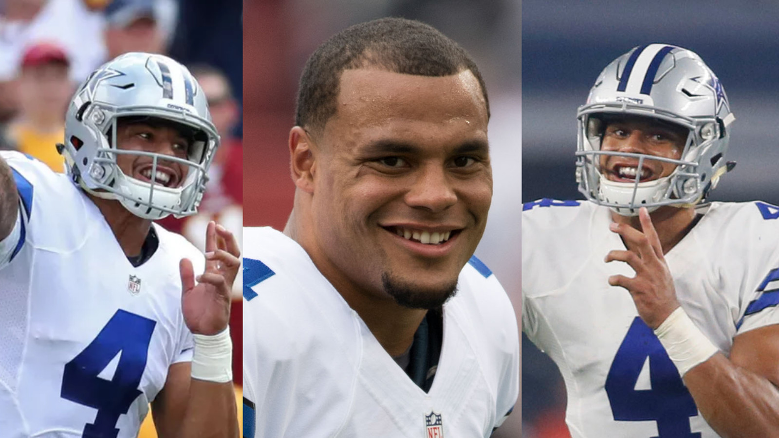 Did You Ever Notice Dak Prescott Is Always Smiling While