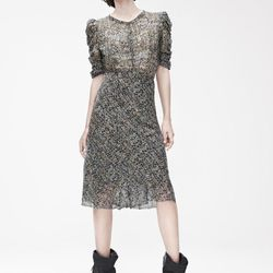 Dress ($129), Boots ($299)