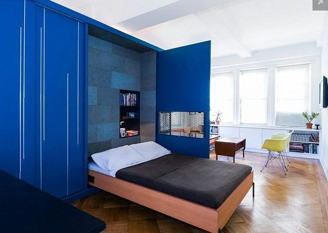 New York City's 48 Most Famous Micro Apartments Curbed NY Cool 2 Bedroom Condo Nyc Creative Design