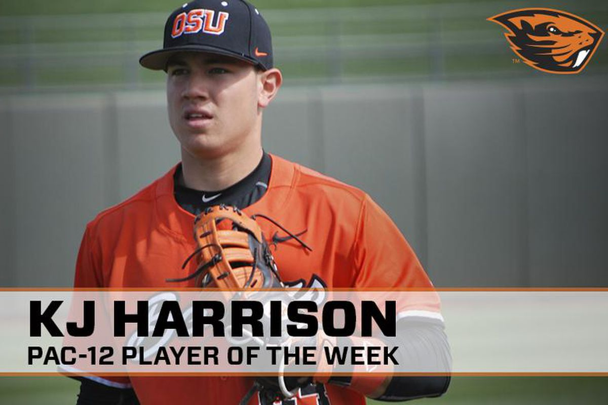 KJ Harrison's career couldn't have gotten off to a better start!
