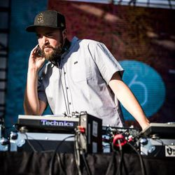 DJ and record producer Diplo performs at Pioneer Park on Aug. 4 2016 as part of the Twilight Concert Series.