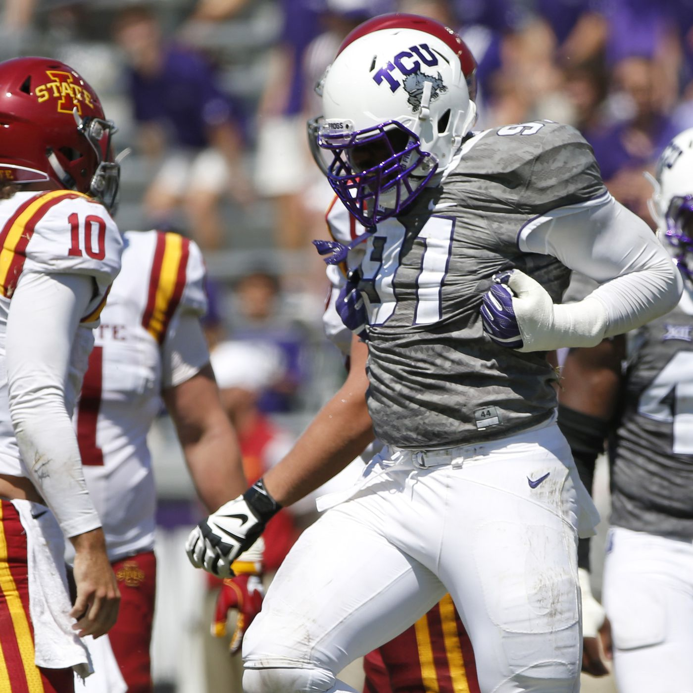 d3bf1f0254 2017 TCU Position Preview  Defensive Line - Frogs O  War