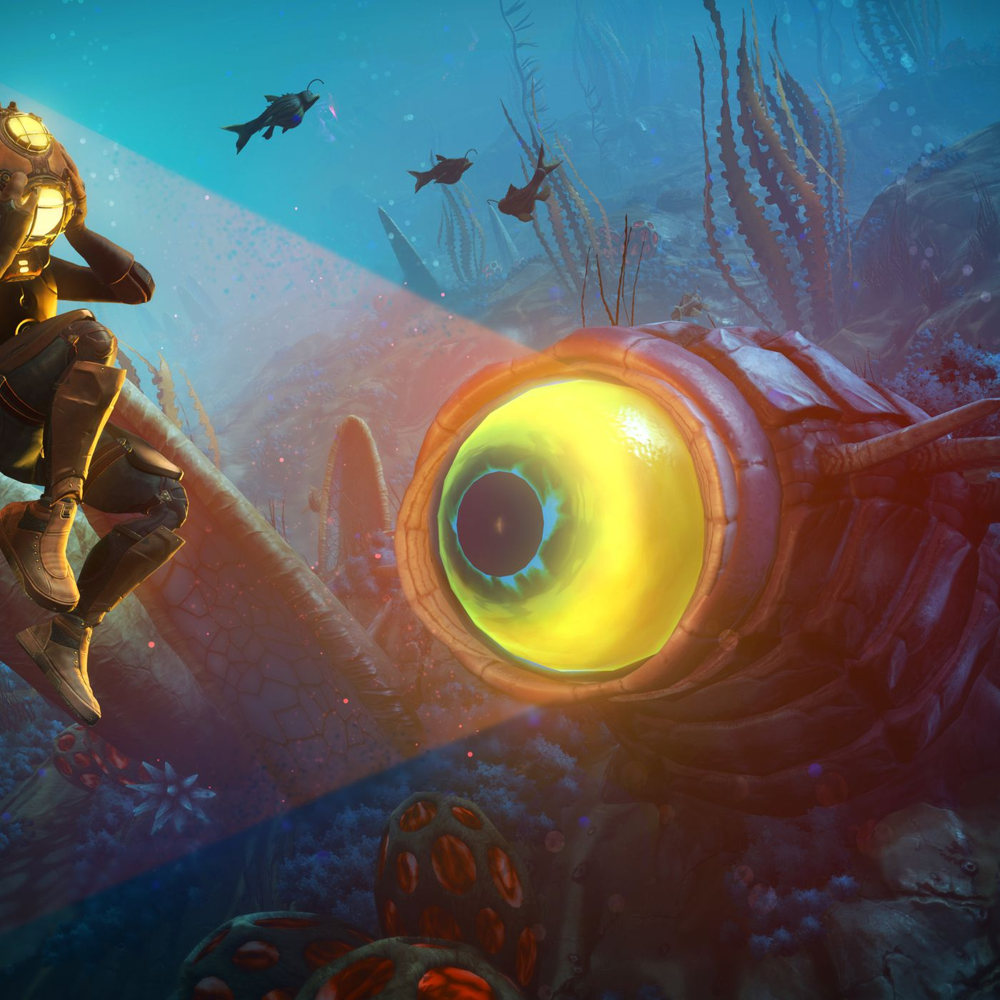 No Man's Sky's 'The Abyss' update adds sea monsters and