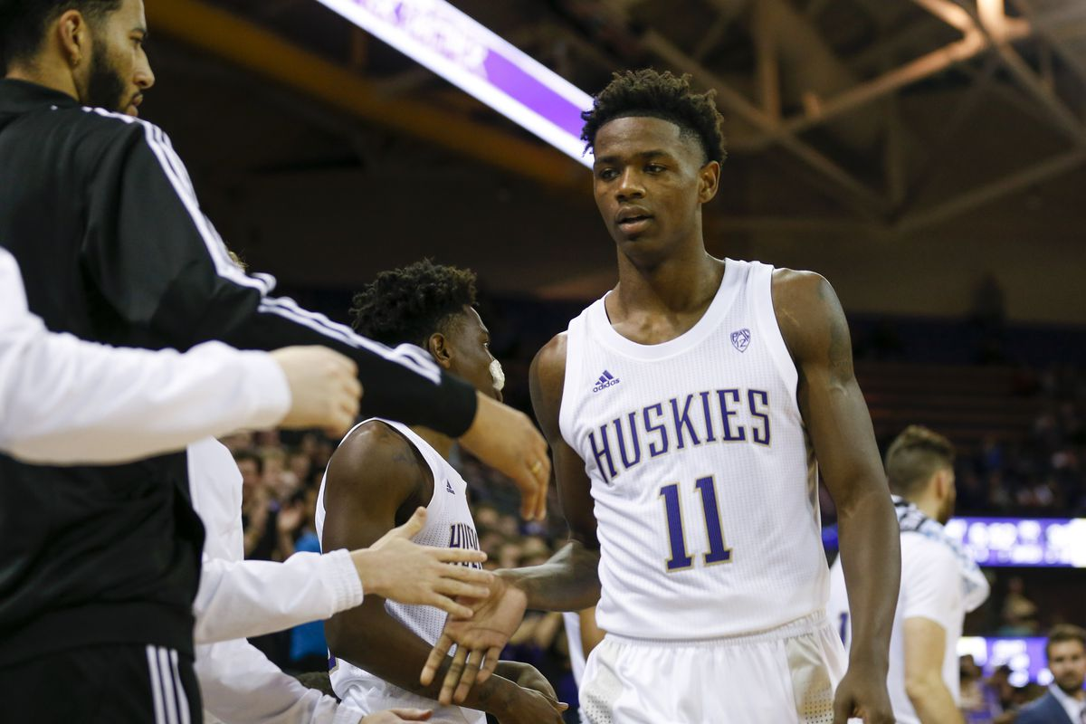 NCAA Basketball: Maine at Washington