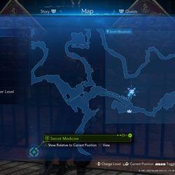 The Corneo Secret Stash in the Junkyard (Steel Mountain)