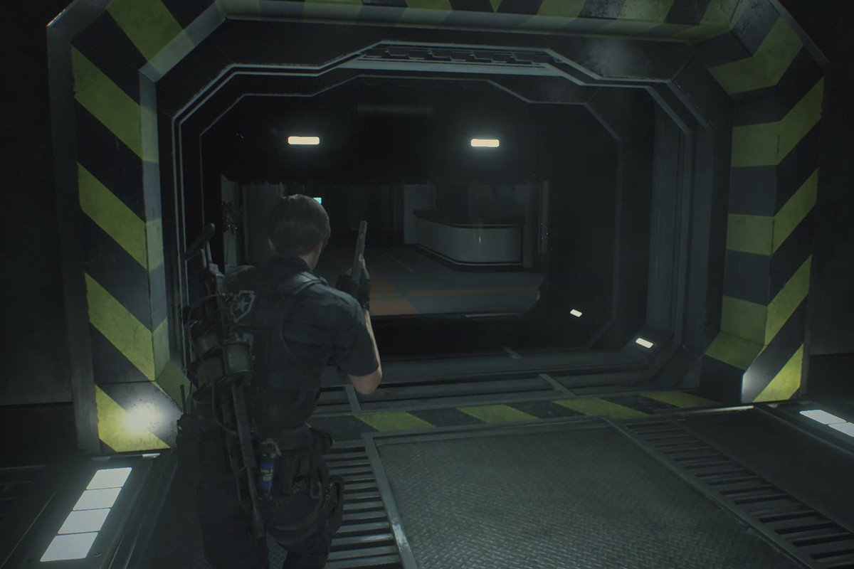 Resident Evil 2 Leon walkthrough: Investigate the lab and