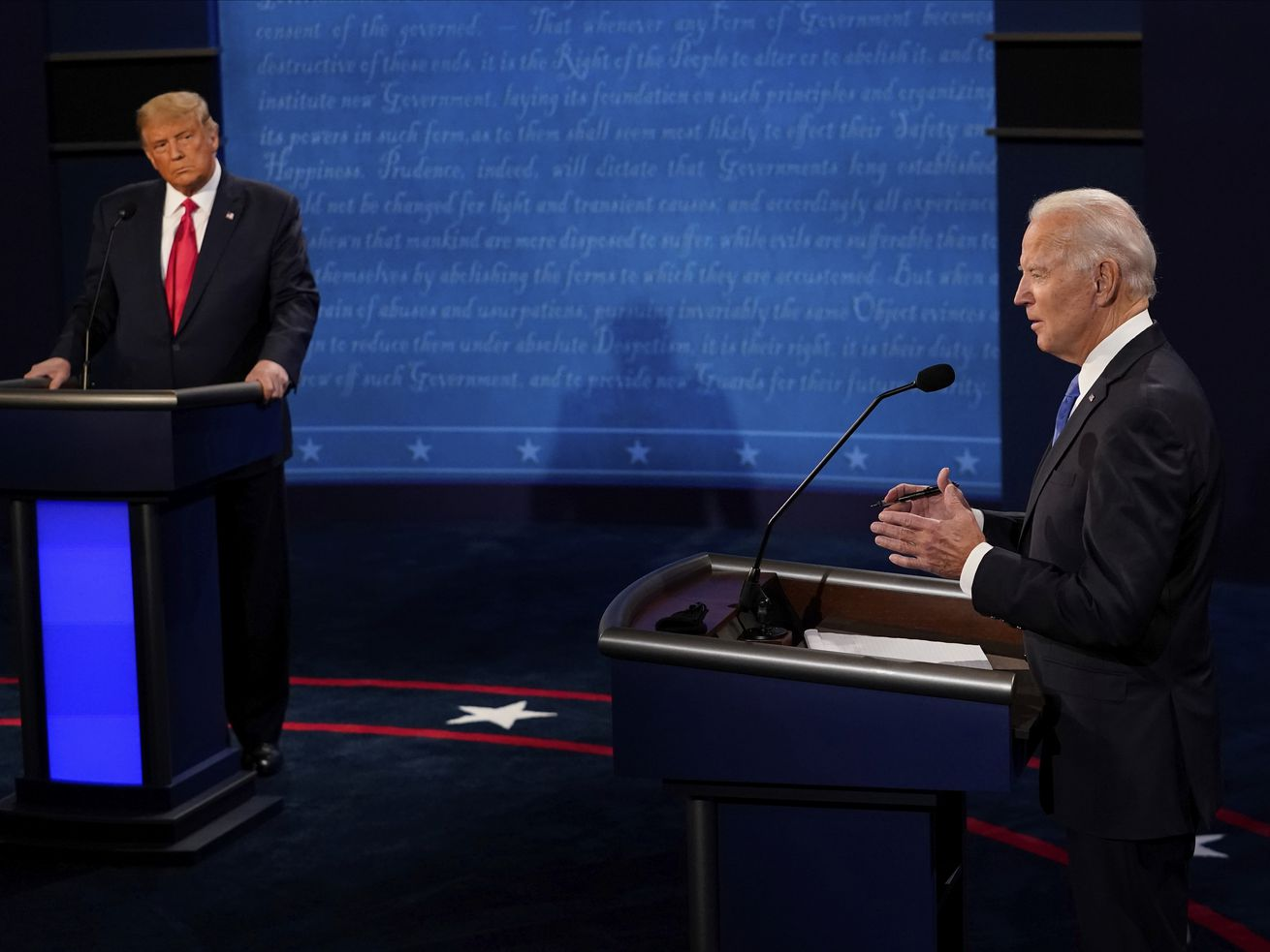 Trump and Biden stepped it up, but where is their vision for the country?