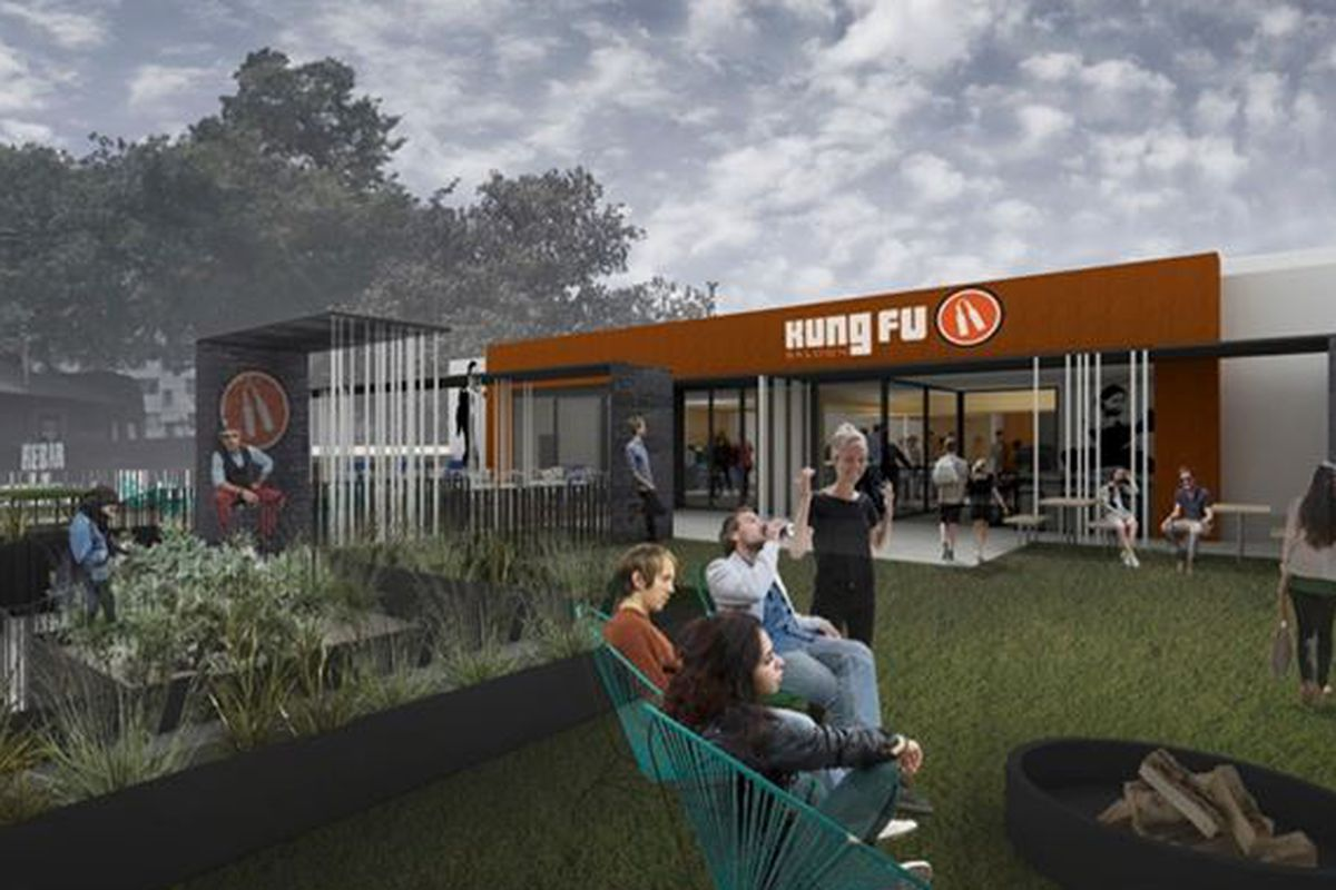 Rendering for the new Midtown location.
