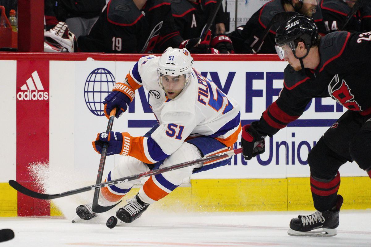NHL: MAY 01 Stanley Cup Playoffs Second Round - Islanders at Hurricanes