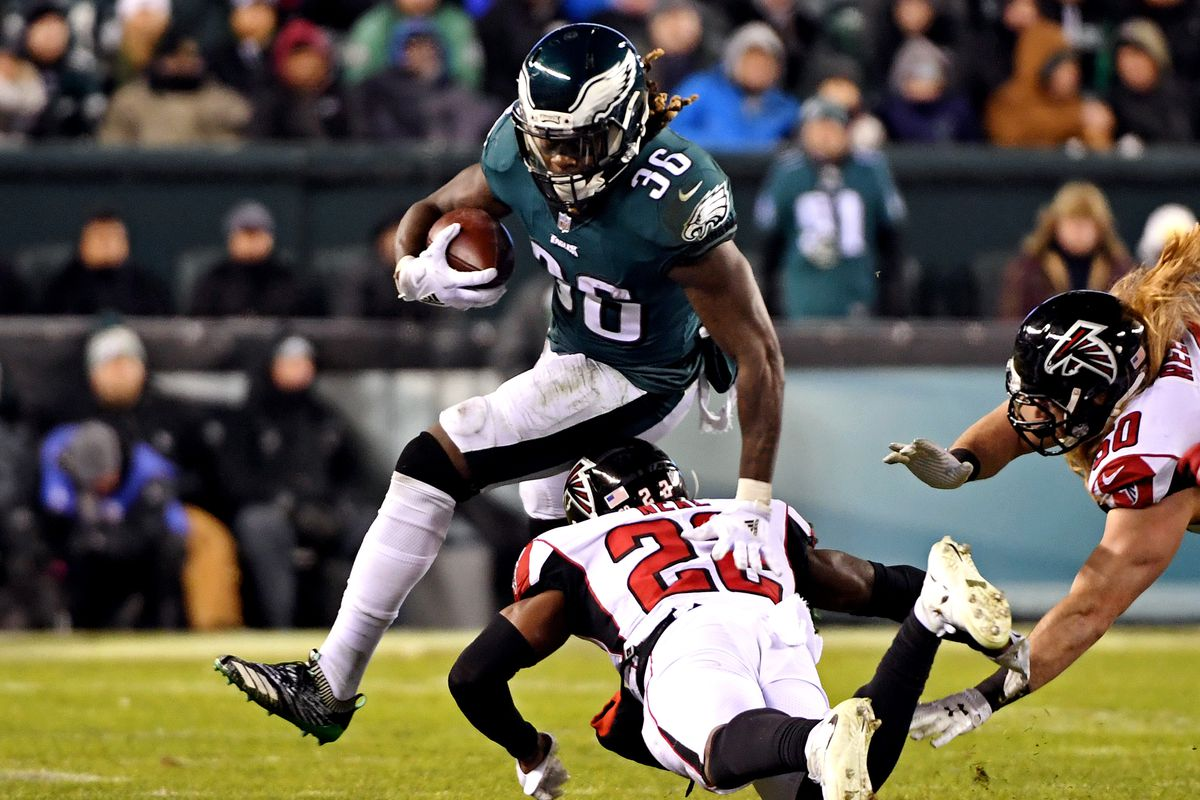 Jay Ajayi Went Missing For A Stretch During The Eagles