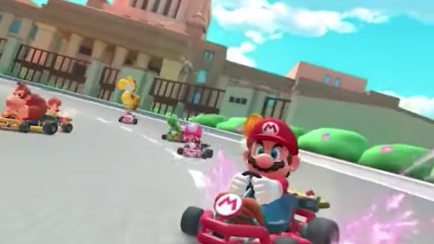 Sweet Lord In Gaming Heaven, Mario Kart For Mobile Is Almost Here