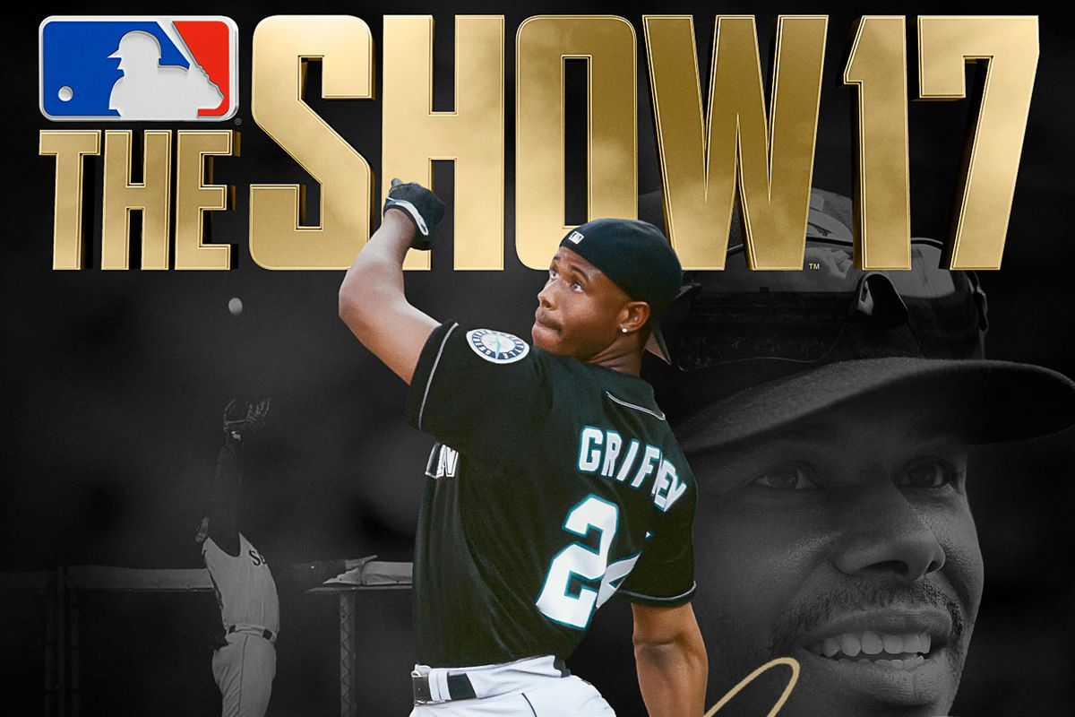 online retailer 9b177 ae861 Ken Griffey Jr.'s sweet swing graces MLB The Show 17 cover ...