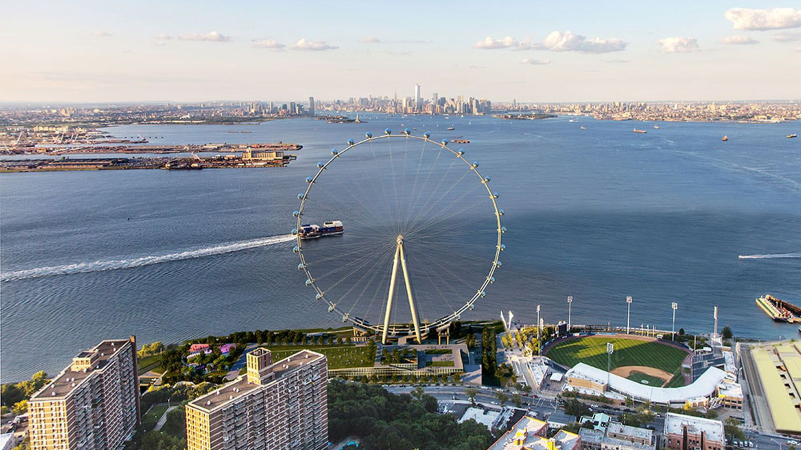 Rent A Wheel Payment >> Staten Island's New York Wheel is close to being back on track - Curbed NY