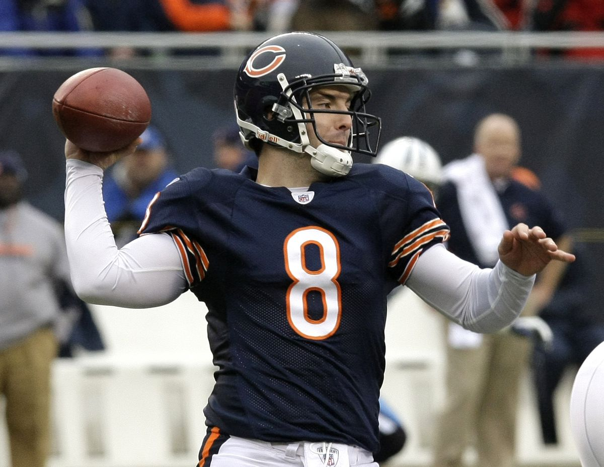 Rex Grossman's 2006 season told the tale: he was an MVP candidate as the Bears started 7-0, but he couldn't sustain it and developed the Good Rex/Bad Rex persona that he never could shake.