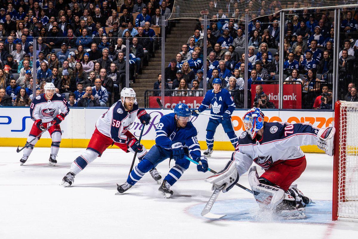 Columbus Blue Jackets v Toronto Maple Leafs