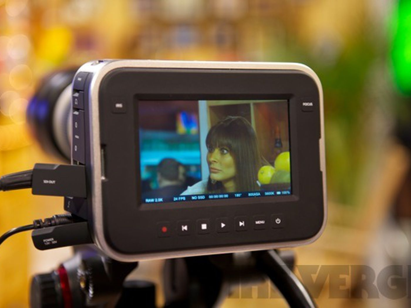 Blackmagic Cinema Camera Shoots 2 5k Video Costs 2 995 Hands On The Verge