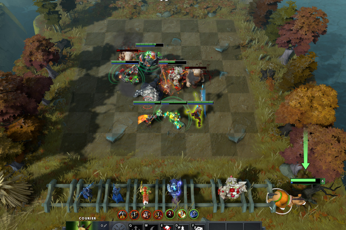 The new game that was born from Dota 2 Custom Games – Auto Chess