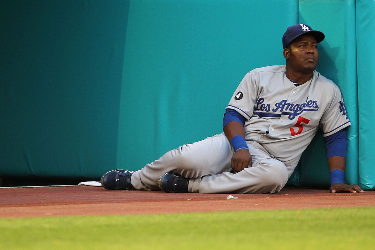 Juan Uribe sits again today, for the fifth straight game.