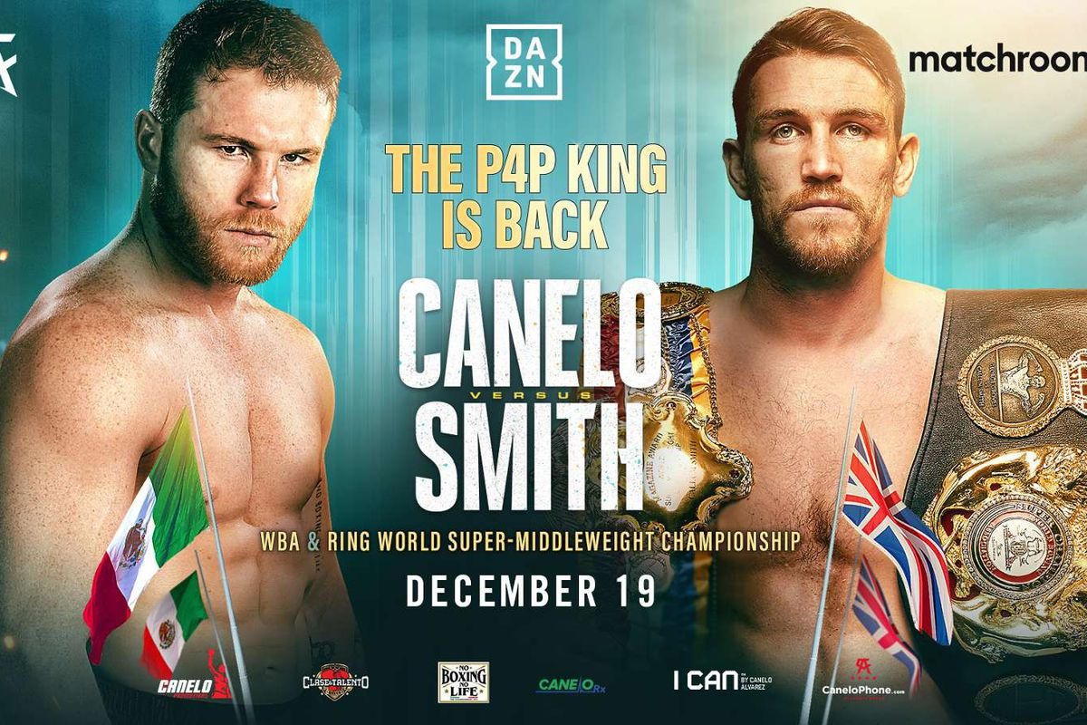 Canelo Smith Ggg Szeremeta More Boxing Tv Schedule Dec 16 20 Bad Left Hook