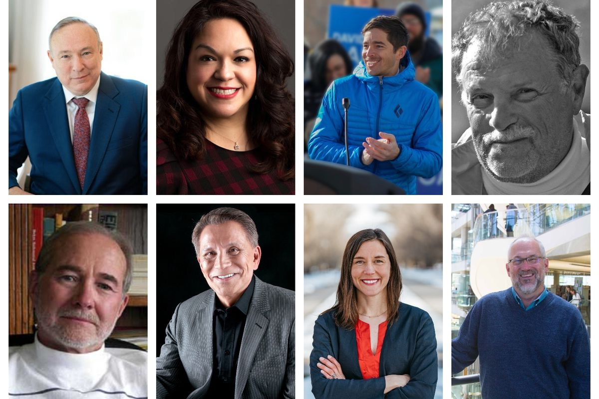 Candidates for the 2019 Salt Lake City mayor's race