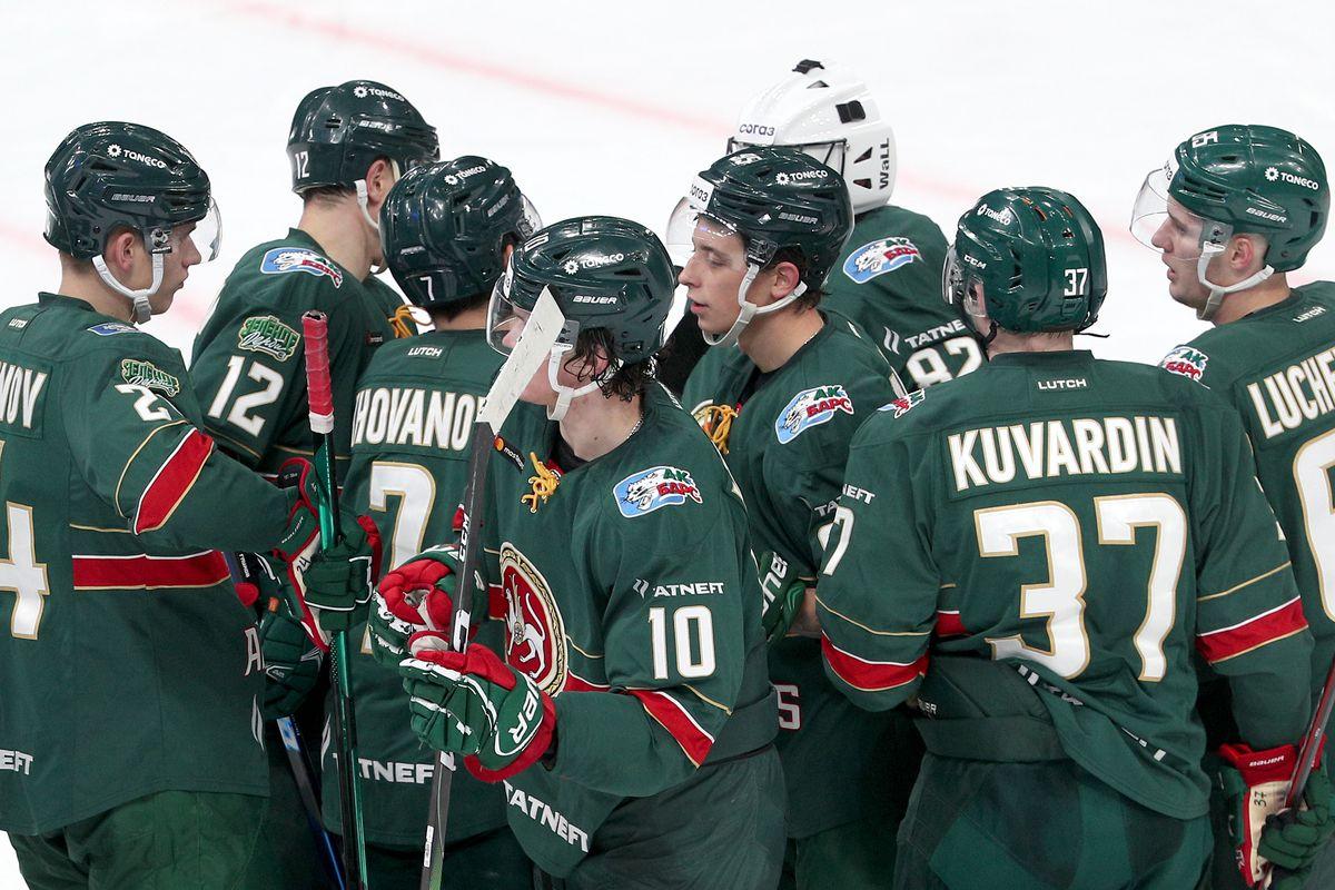 Kontinental Hockey League: Ak Bars Kazan 4 - 1 Salavat Yulaev Ufa