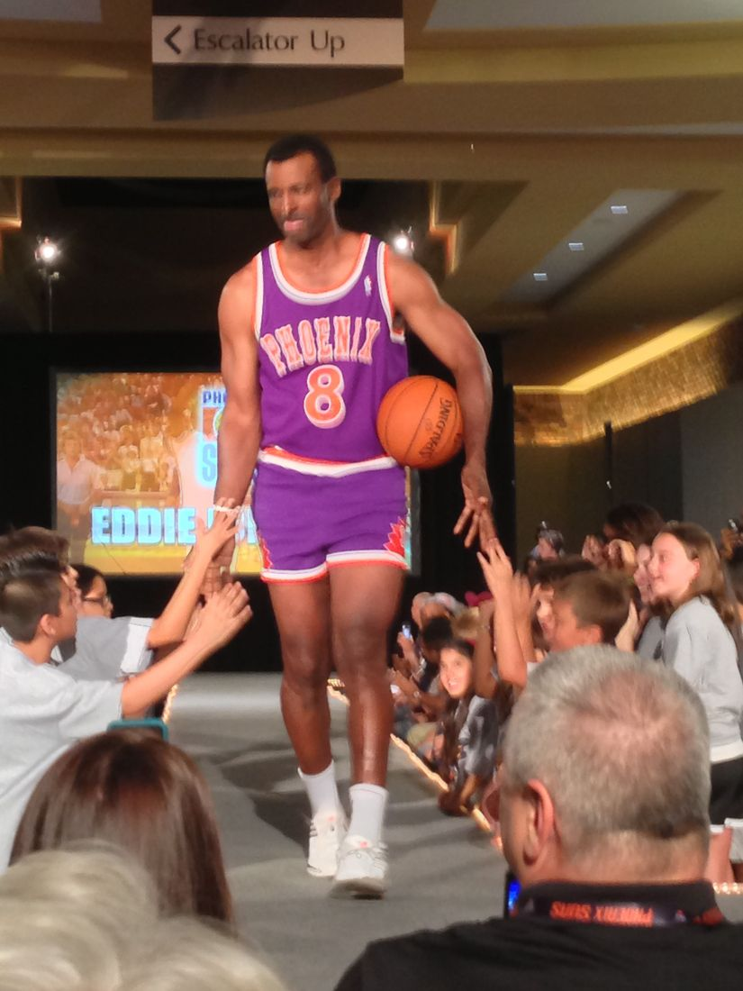 Phoenix Suns show off new uniforms at Scottsdale Fashion Square