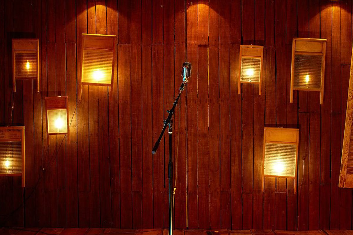 """The downstairs stage at <a href=""""http://Viracochasf.com"""">Viracocha</a>"""