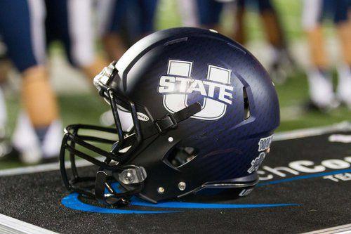 Utah State helmet