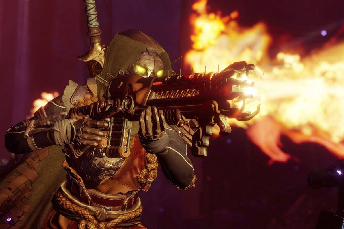 Image of Hunter holding the Lord of Wolves shotgun in Destiny 2