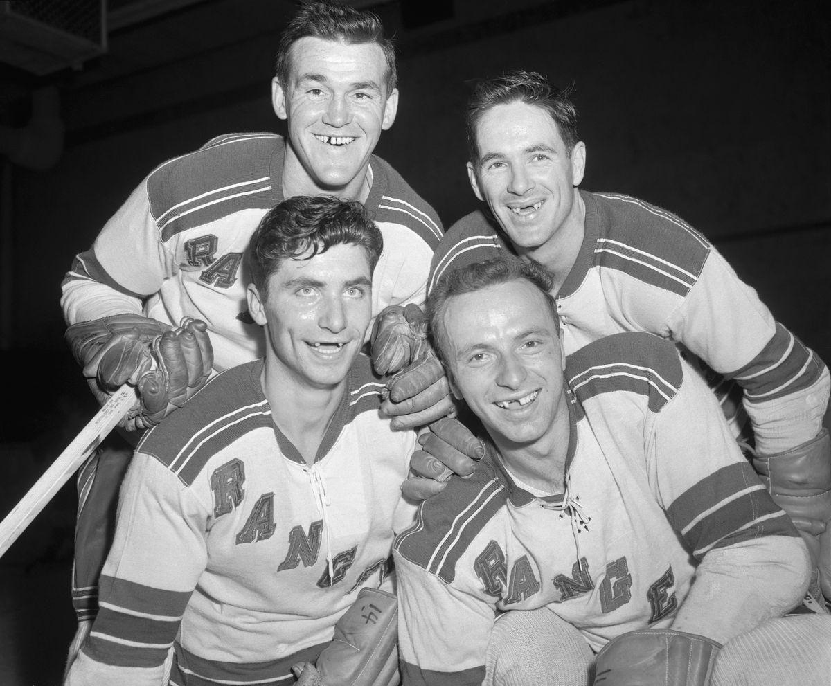 Portrait of New York Rangers Players