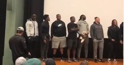 Eagles rookies get terrible haircuts, including the 'George Jefferson'
