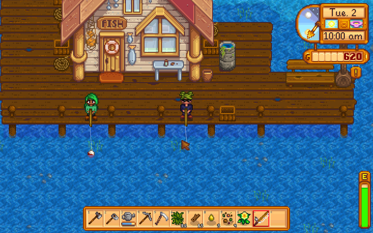 Stardew Valley multiplayer co-op mode is fun, if nothing new