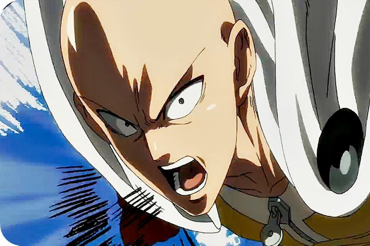 One punch man jc staff spring is here which means a new slate of anime is