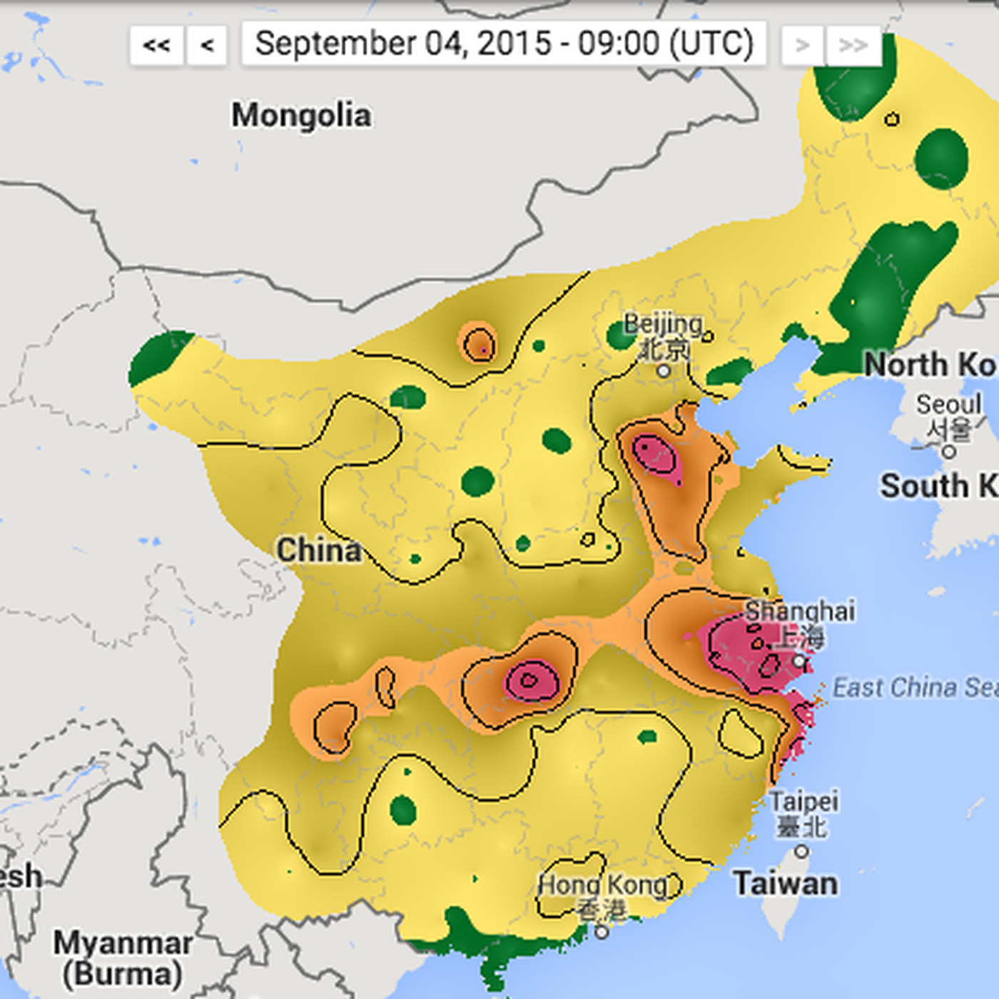 See China\'s air pollution in real time - The Verge