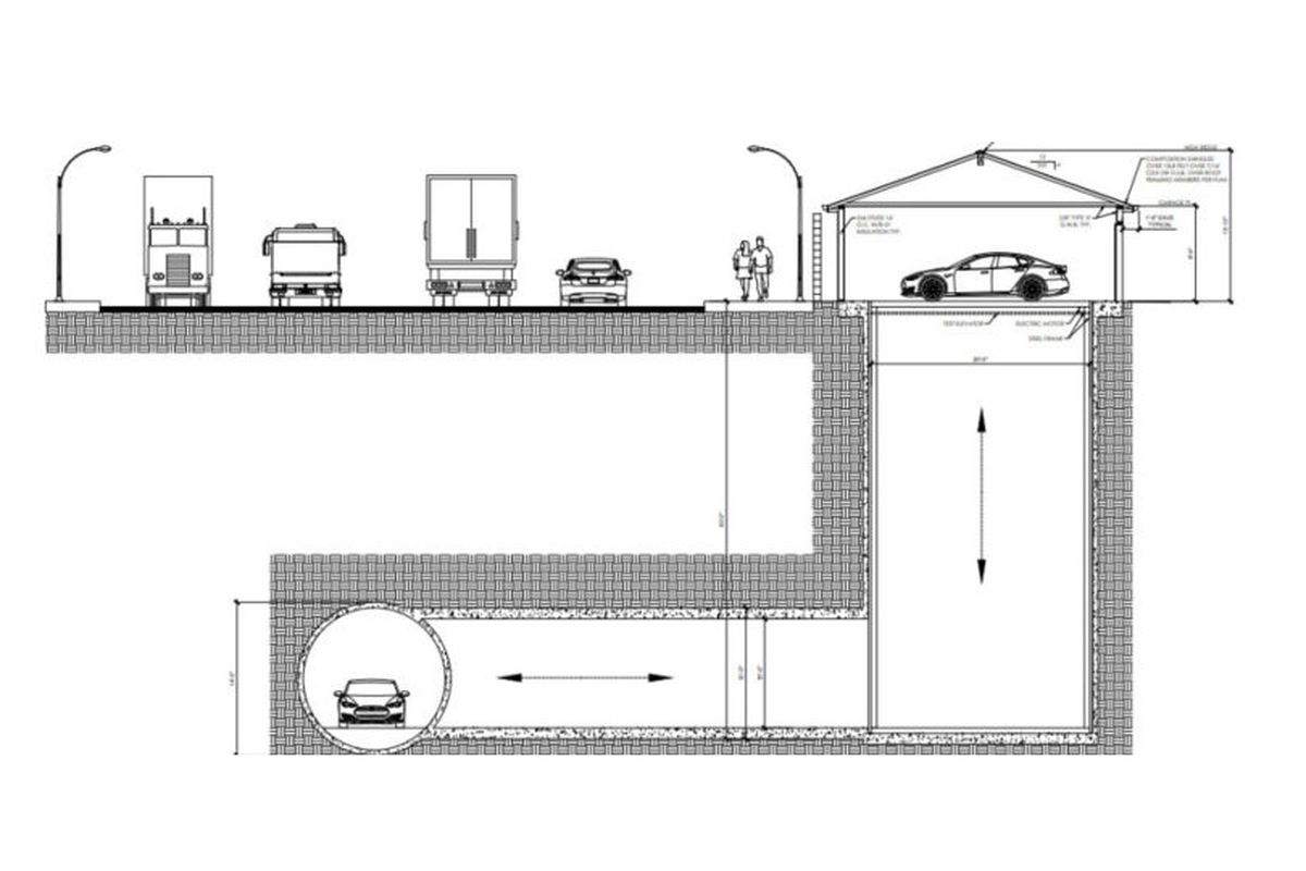 Boring Company Gets Approval To Build A Tunnel Connecting Garage Chicago Electric Hoist Wiring Diagram In June The Was Selected Multibillion Dollar Rapid Transit Link Between Downtown Ohare International Airport
