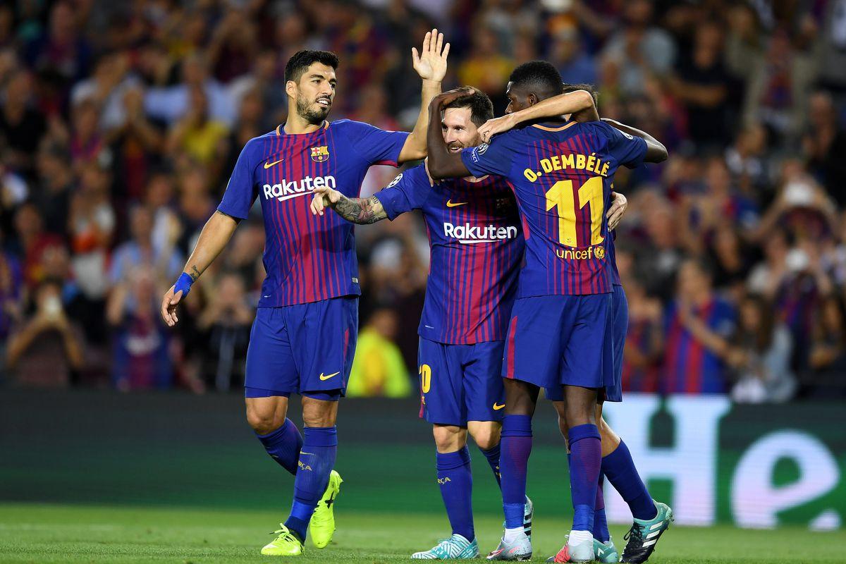 Barcelona Vs Juventus Final Score 3 0 Lionel Messi Dominates Champions League Opener Sbnation Com