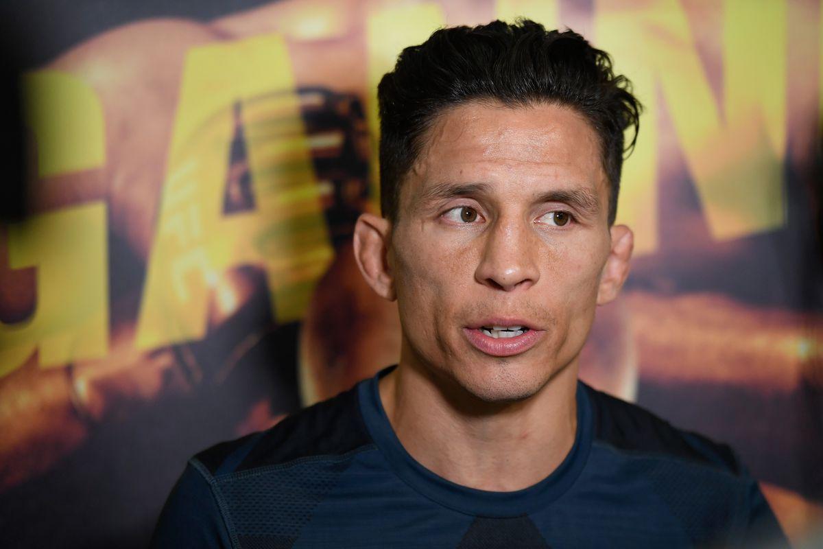 UFC Fight Night Ngannou v Dos Santos: Open Workouts Joseph Benavidez