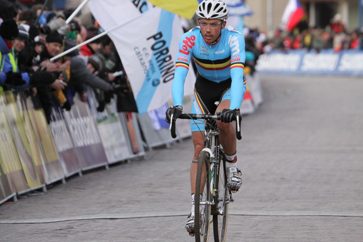 Last time the World Championships visited Hoogerheide, Sven Nys was third.