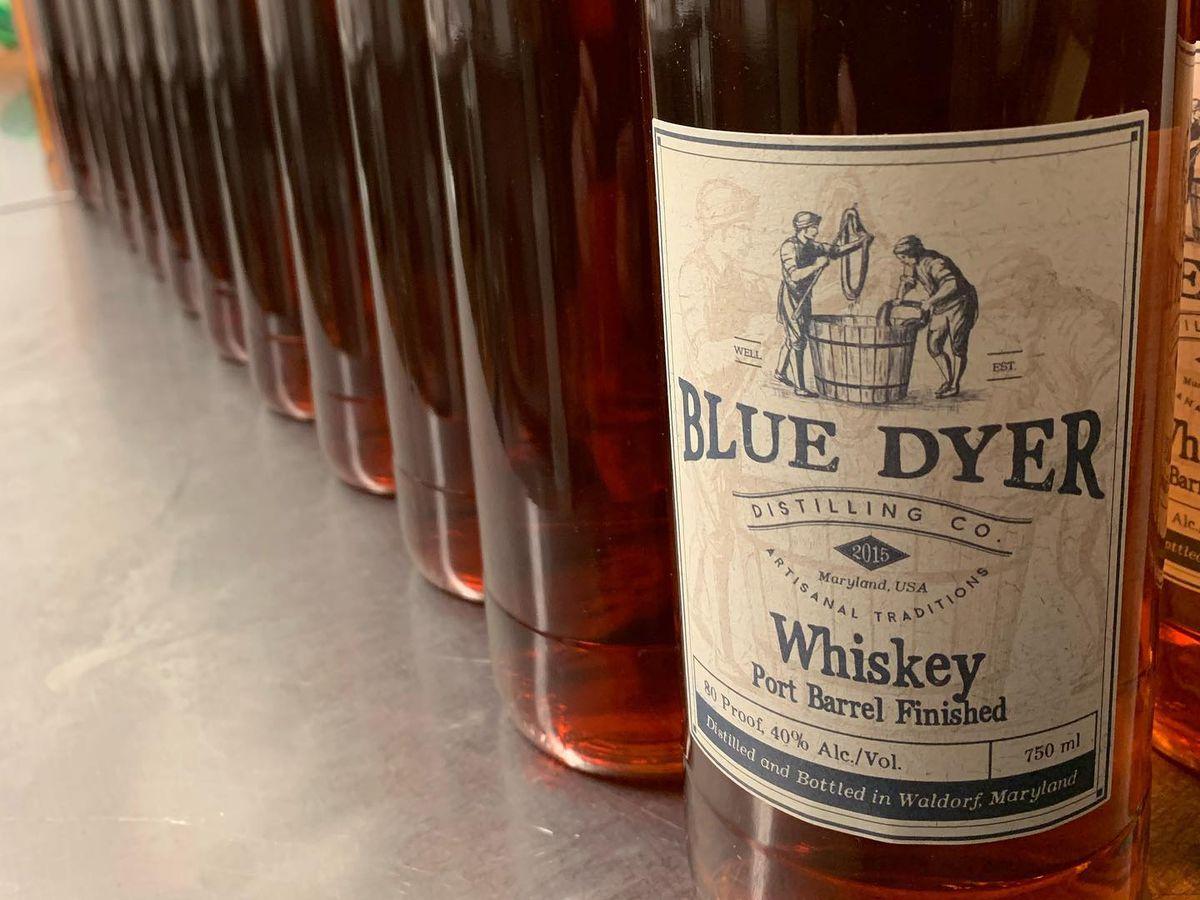Port barrel whiskey from BlueDyer Distilling Co.