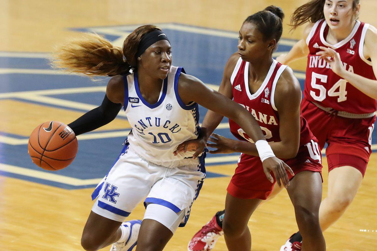 NCAA Women's Basketball: Indiana Hoosiers at Kentucky Wildcats