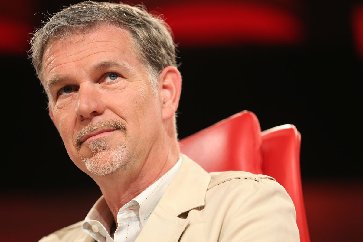 Netflix's Hastings on Stock Price: Euphoric Before, Okay Now