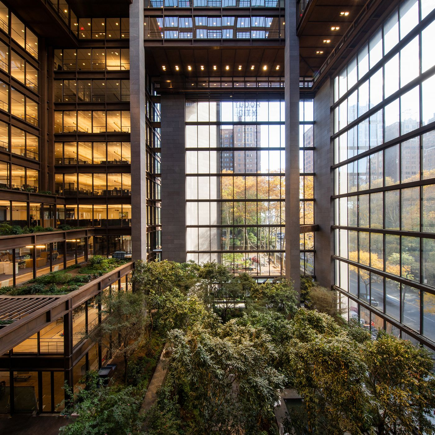 Ford Foundation Building Renovation In